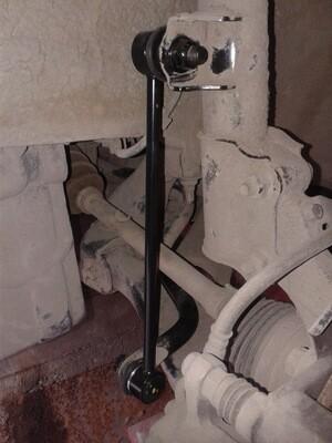 Замена стоек переднего стабилизатора