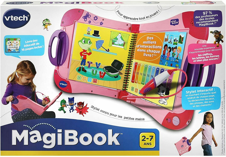 MagiBook Starter Pack Rose, Livre Interactif enfant - Version FR