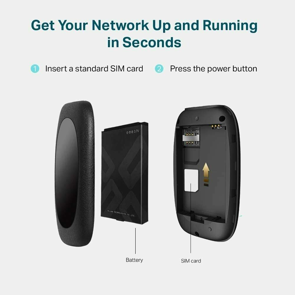 TP-Link Routeur Mobile 4G LTE Wi-Fi