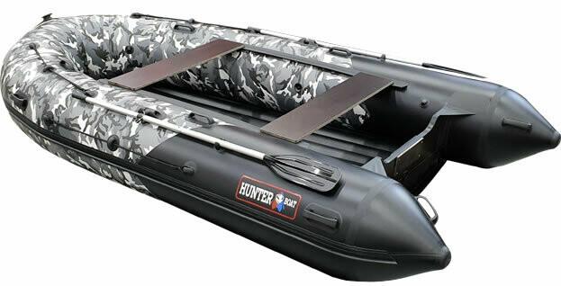 Лодка Хантер 380 ПРО кмф