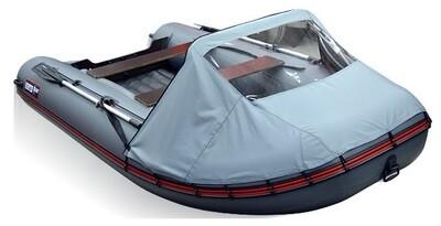 Носовой тент для лодки ПВХ Хантер 360, Хантер 360 А и Хантер 390 А