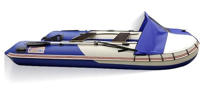 Носовой тент на надувную лодку СТЕЛС 295, СТЕЛС 315 и СТЕЛС 335