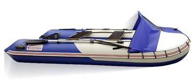 Носовой тент для лодки СТЕЛС 315 АЭРО и 335 АЭРО