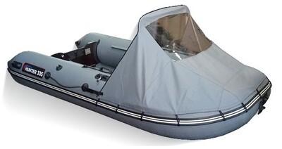 Носовой тент для лодки Хантер 335