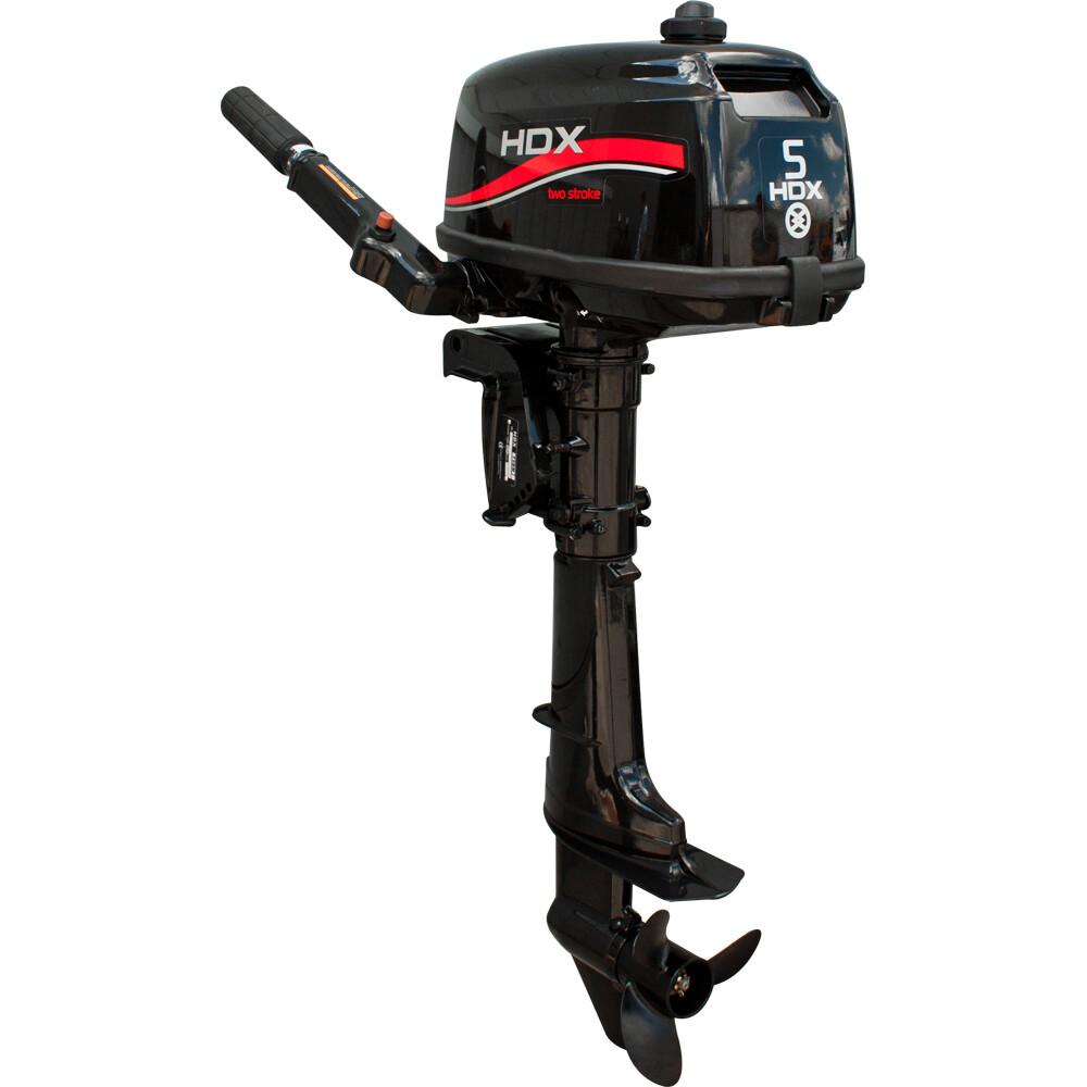 Лодочный мотор 2-х тактный HDX T 5 BMS