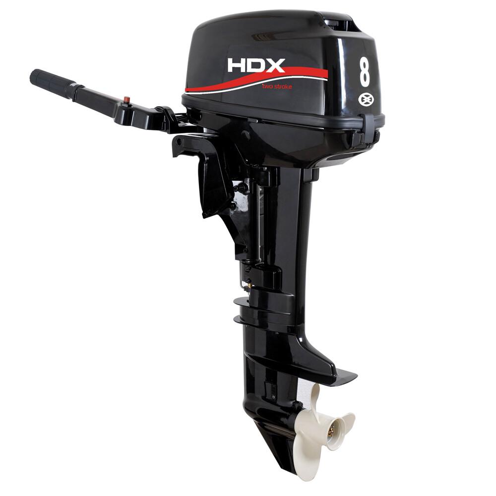 Лодочный мотор 2-х тактный HDX R series T 8 BMS