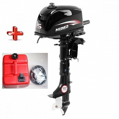 Лодочный мотор HIDEA HD 5FHS (С БАКОМ)