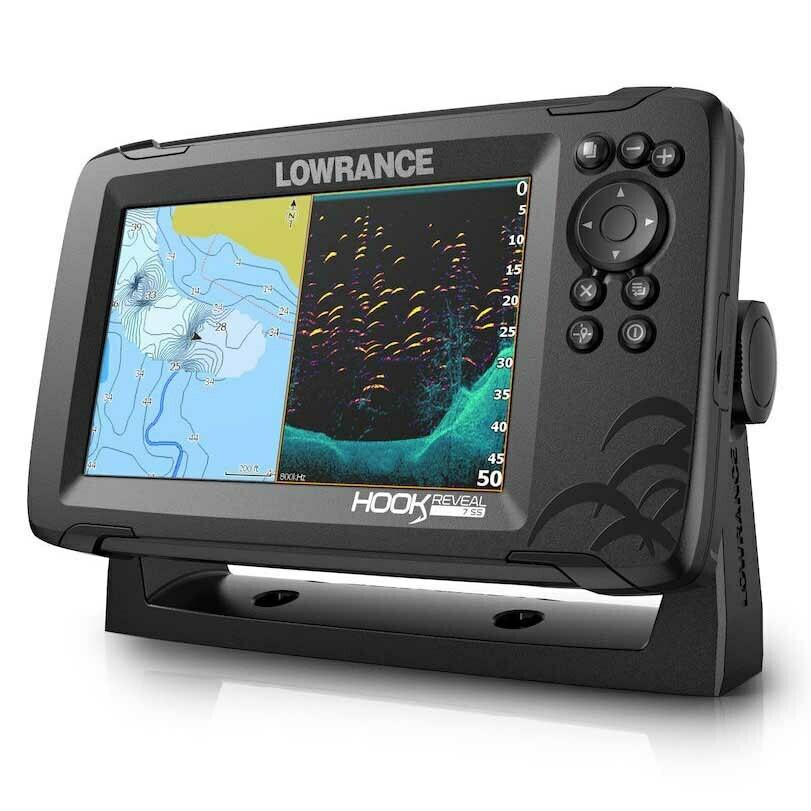 Эхолот Lowrance HOOK REVEAL 7 50/200 HDI ROW
