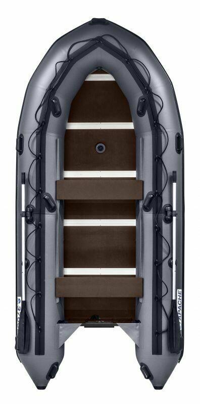 Лодка APACHE 3700 СК графит