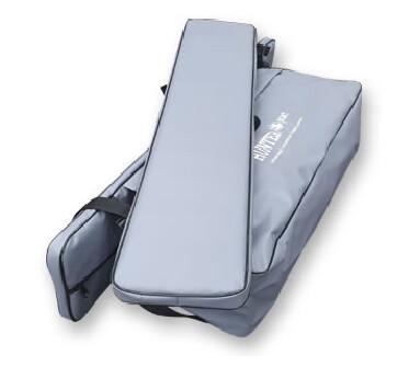 Комплект мягких накладок с сумкой на лодку Хантер 290 ЛКА серый