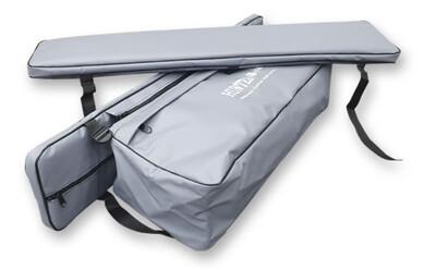 Комплект мягких накладок с сумкой на лодку 100*24 см