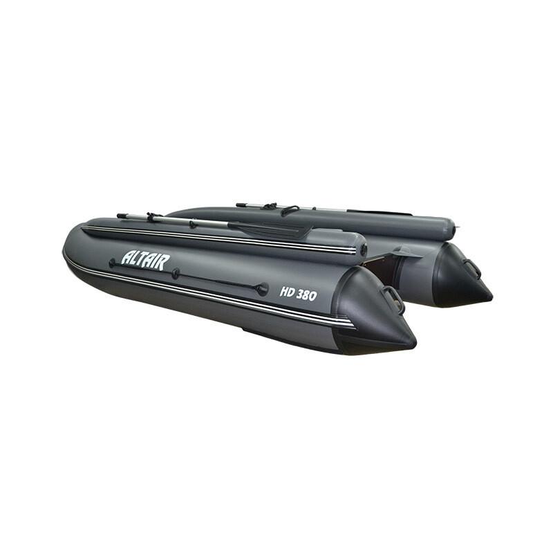 Моторная надувная лодка ПВХ HD 380 НДНД с фальшбортом