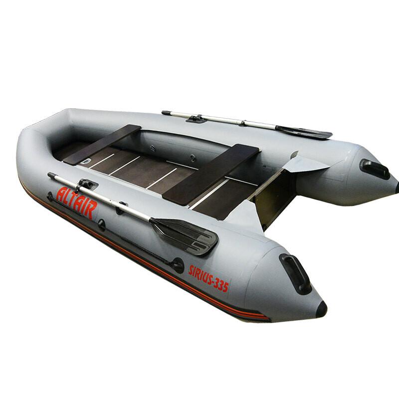 Надувная лодка ПВХ Sirius 335 L Ultra ( Цвет-серый)
