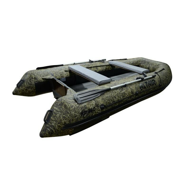 Моторная надувная лодка ПВХ HD 360 НДНД (камуфляж)