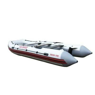 Надувная лодка ПВХ ALTAIR ORION 550 бело-серый