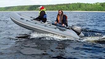 Лодка Мнев и К Кайман N-400