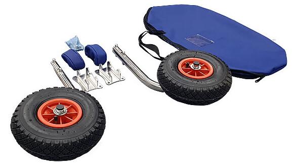 Транцевые колеса быстросъемные (пайол)
