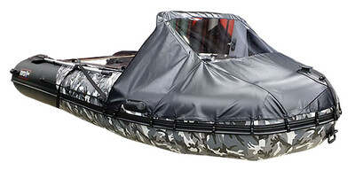 Носовой тент для лодки Хантер 330 ПРО