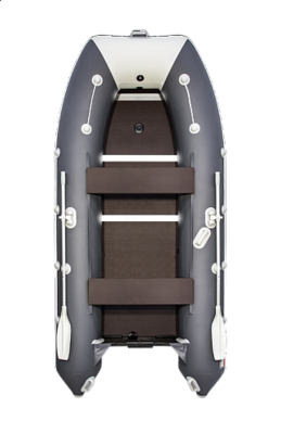Надувная лодка  Таймень LX 3600 СК Графит/светло-серый