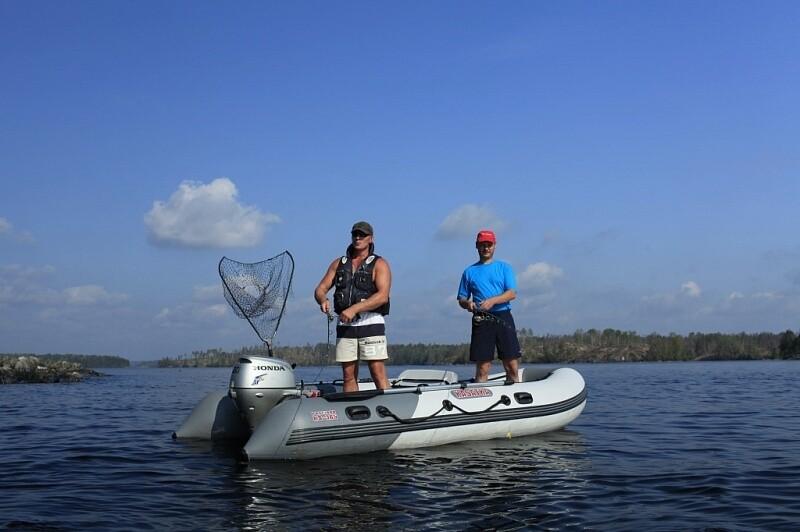 Лодка Посейдон Касатка-385 Sport