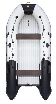 Надувная лодка Ривьера 4300 Килевое надувное дно