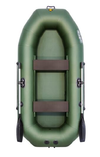 Надувная лодка Таймень NX 270 зеленый
