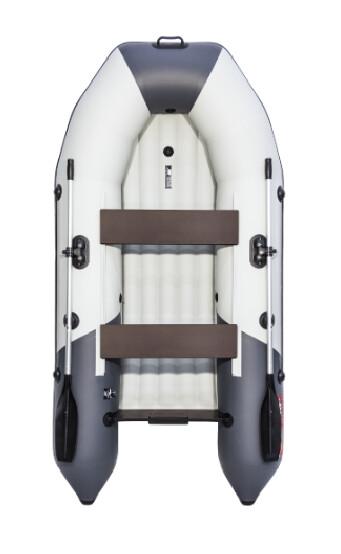 "Лодка Таймень NX 2800 НДНД ""Комби"" светло-серый/графит"