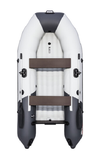 "Лодка Таймень NX 2900 НДНД ""Комби"" светло-серый/графит"