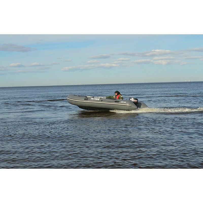 Моторная надувная лодка ПВХ HDS 420 НДНД