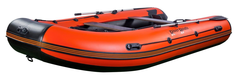 Надувная лодка River Boats RB-390 (Киль)