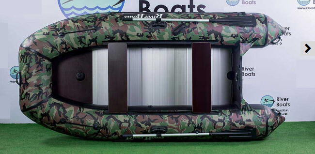 Надувная лодка River Boats RB-350 (Киль + алюминиевый пол)