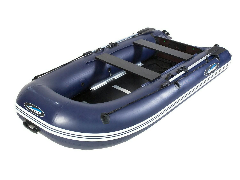 Надувная моторная лодка из ПВХ Gladiator Light B330 DP