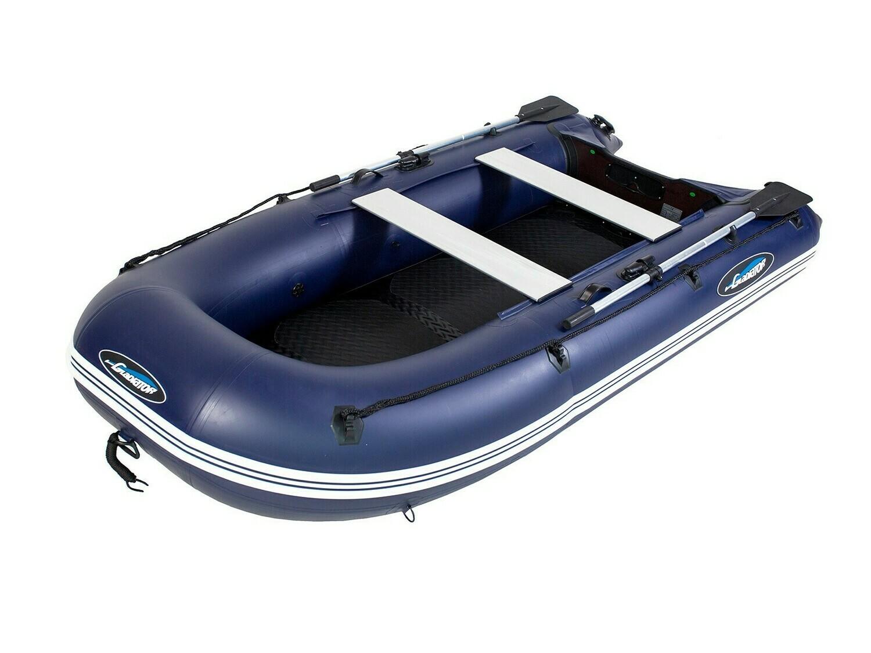 Надувная моторная лодка из ПВХ Gladiator Light B330AD