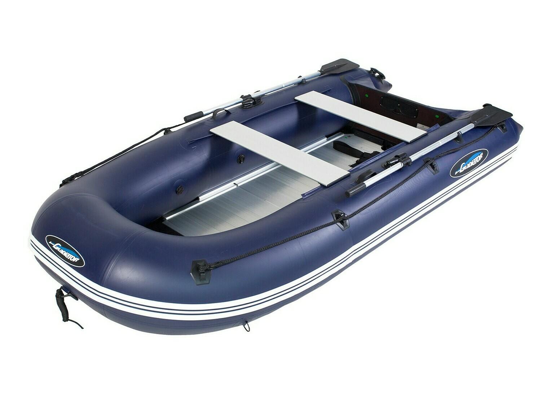 Надувная моторная лодка из ПВХ Gladiator Light B370AL