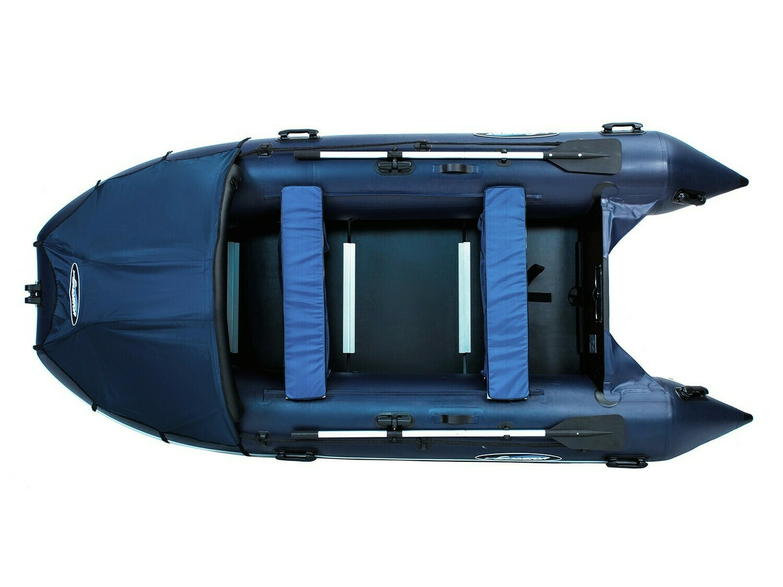 Надувная моторная лодка из ПВХ Gladiator Professional D370 DP
