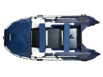 Надувная моторная лодка из ПВХ Gladiator Professional D330 DP
