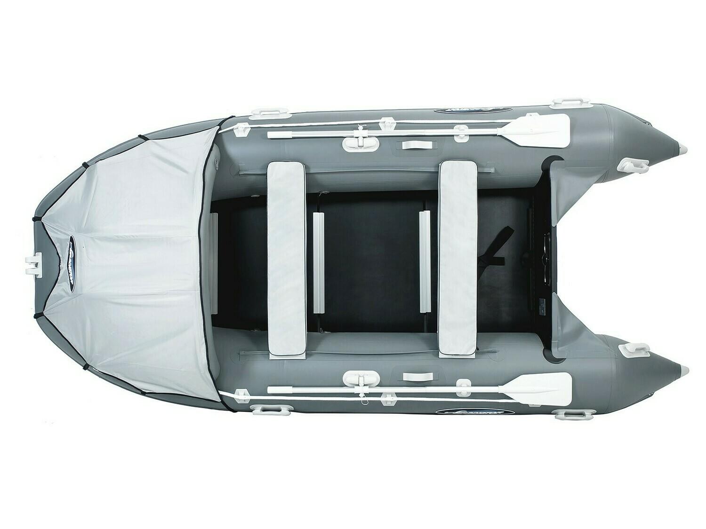 Надувная моторная лодка из ПВХ Gladiator Professional D400 DP