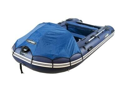 Надувная моторная лодка из ПВХ Gladiator Professional D400AL