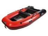 Надувная моторная лодка из ПВХ Gladiator HD 370 AL
