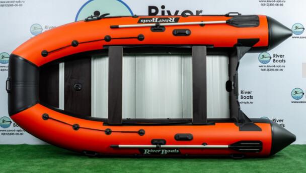 Надувная лодка River Boats RB-390 (Киль + алюминиевый пол)