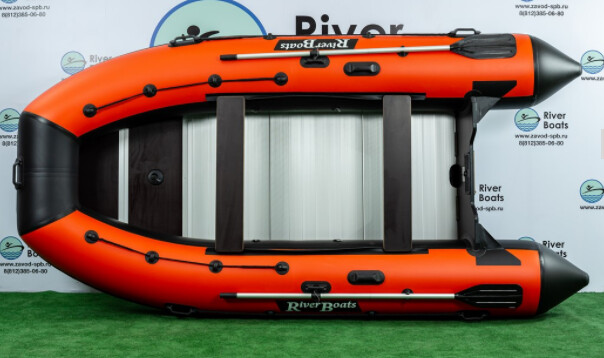 Надувная лодка River Boats RB-430 (Киль + алюминиевый пол)