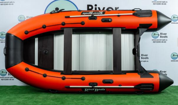 Надувная лодка River Boats RB-410 (Киль + алюминиевый пол)