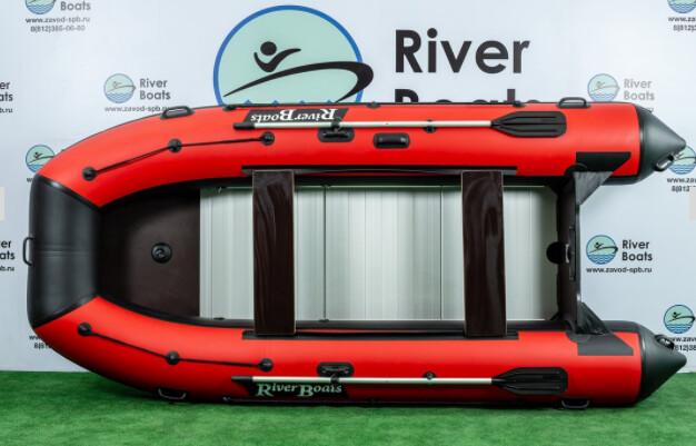Надувная лодка River Boats RB-370 (Киль + алюминиевый пол)