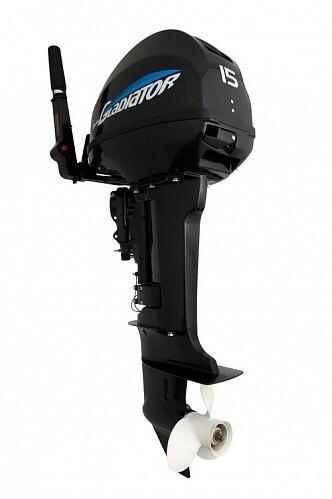 Лодочный мотор Gladiator G 15 FHS