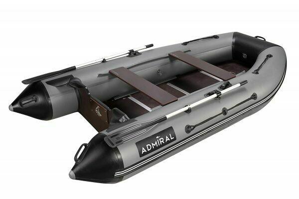 Надувная моторная лодка из ПВХ Адмирал 335