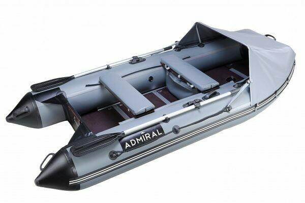 Надувная моторная лодка из ПВХ Адмирал 305 Classic Lux
