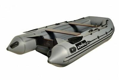 Надувная моторная лодка из ПВХ Адмирал 350 НДНД