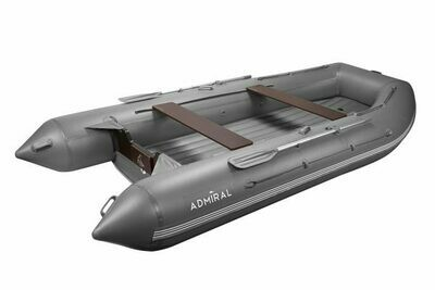 Надувная моторная лодка из ПВХ Адмирал 410 НДНД