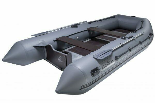 Надувная моторная лодка из ПВХ Адмирал 380