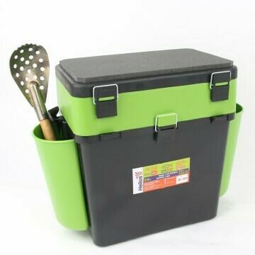 """Ящик зимний """"FishBox"""" (19л) зеленый Helios"""